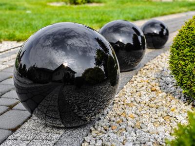 Dekorációs solar gömbök