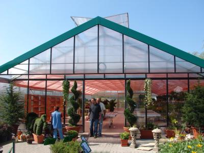 Glasshaus in Ungarn